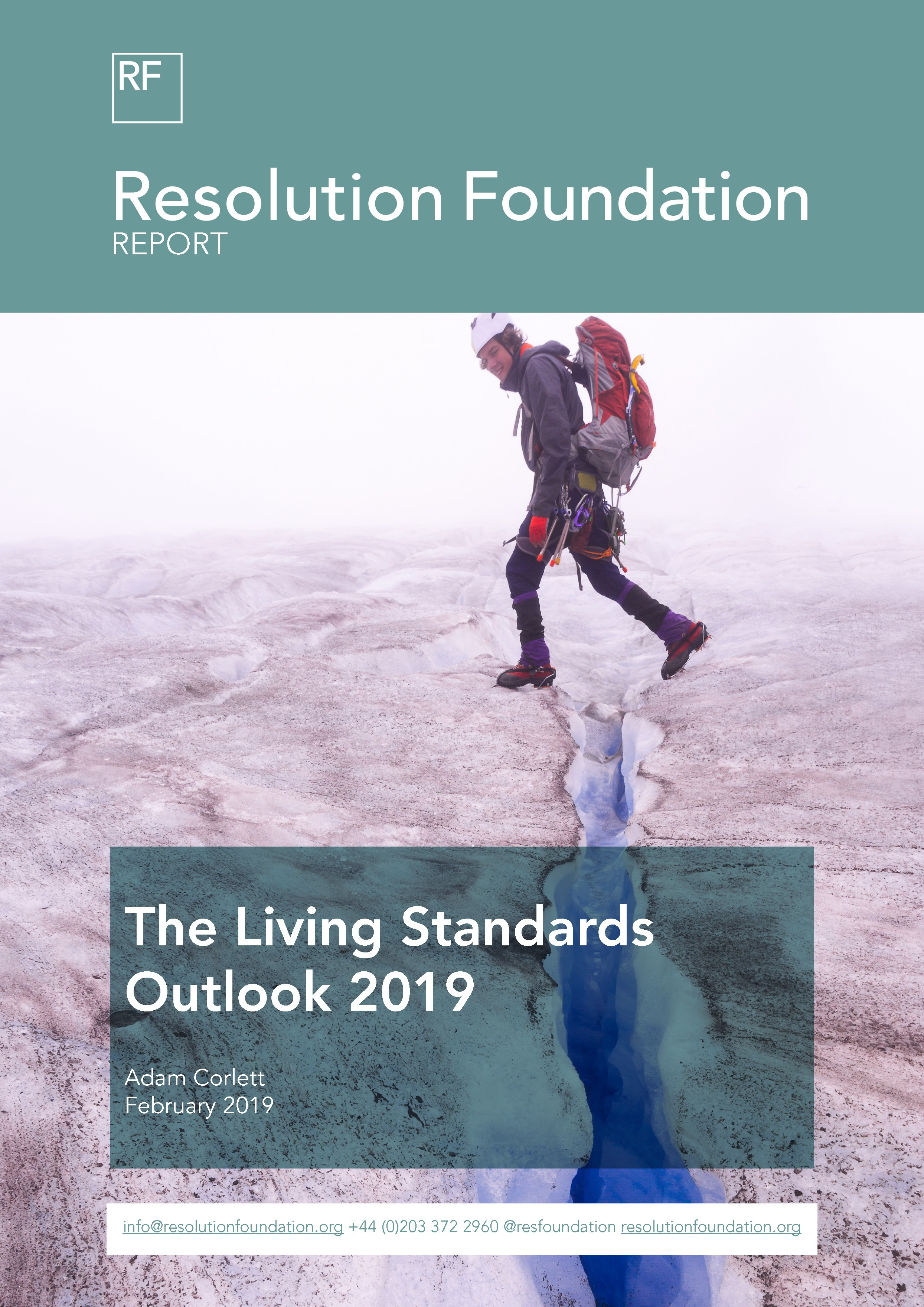 The Living Standards Outlook 2019 • Resolution Foundation